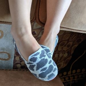 Rothy's size 11 cow print
